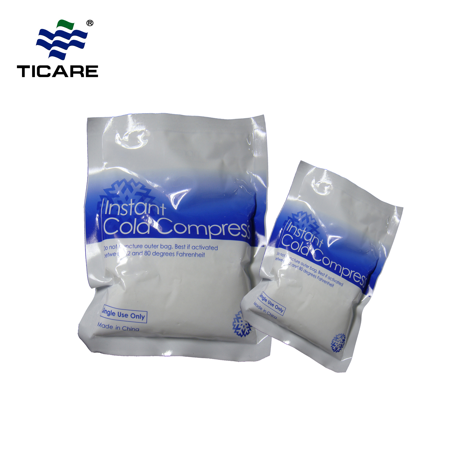 Disposable Instant Hot Compress pack bag