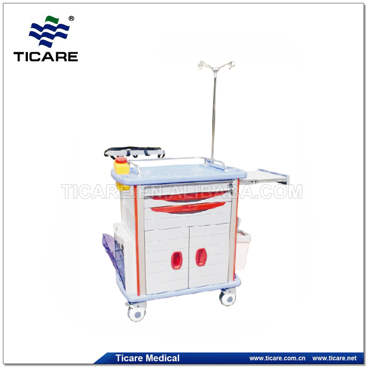 Medical Emergency Trolley equipment for hospital