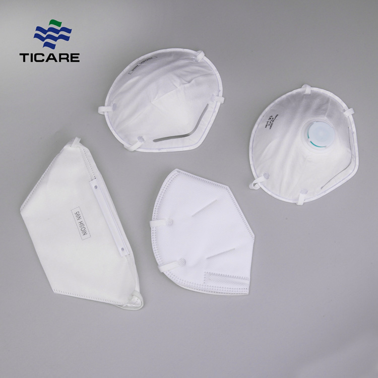 Nonwoven earloop colour N95 Face Mask