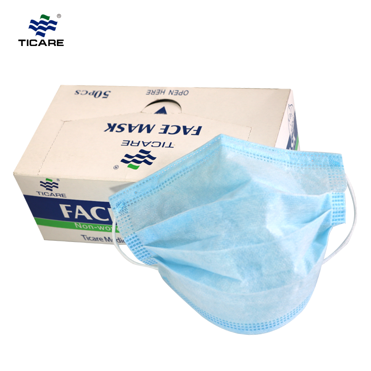 medical Nonwoven Face Mask with earloop