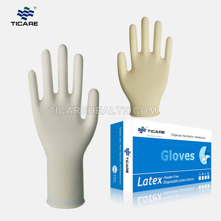 Disposable Non-Sterile Latex Gloves
