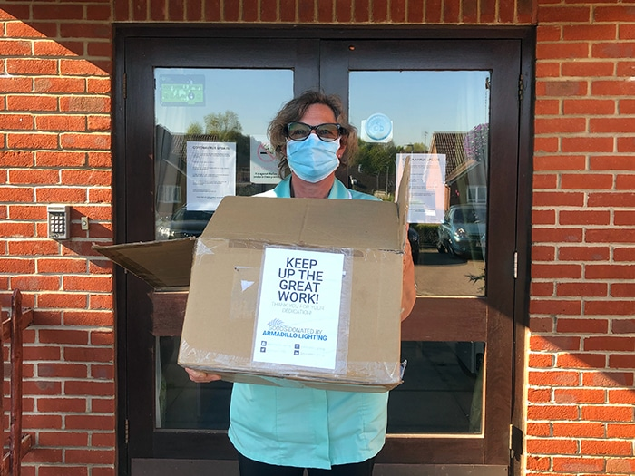 During the outbreak, TICARE Medical, free of charge, donated medical protection products to charities!