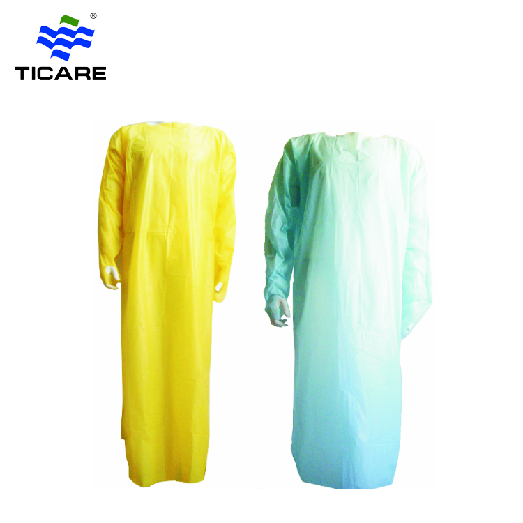 Disposable CPE protective waterproof surgical gowns