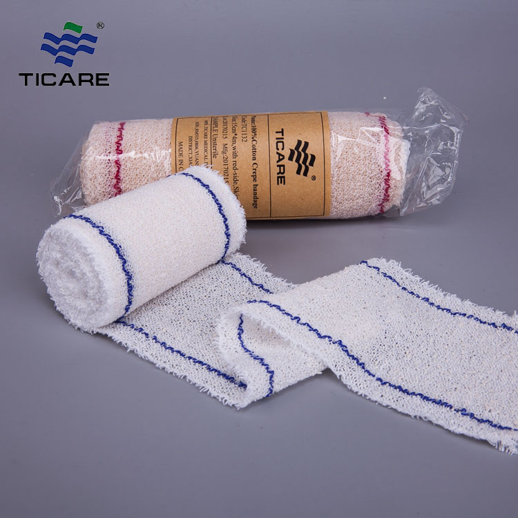 Medical Consumable Crepe Elastic Bandage Health Factory Supplier