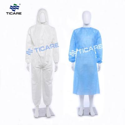 Medical Disposable Surgical Gown PP isolation gown