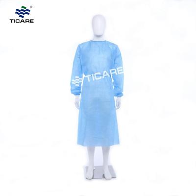 Medical Disposable Sterile Non-woven Surgical Gown PP isolation gown