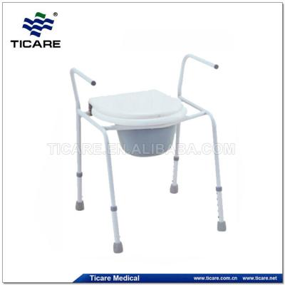 Adjustable Plastic Toilet Chair