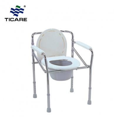 Rehabilitation Therapy Supplies FDA approved foldable Toilet Chair