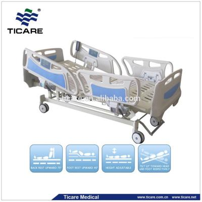 Five Function stainless steel Electric ICU ward nursing bed