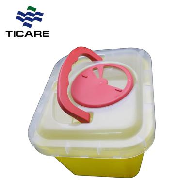 2L Disposable Medical Sharp Container