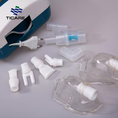 Portable Medical Air Compressor Nebulizer With Three Accessories