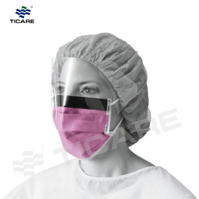 medical Disposable Face Mask With Eye Shield