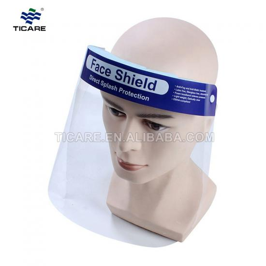 PET Protective Face Shield Plastic