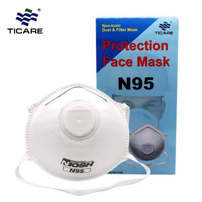 Disposable Non-woven Dust Face Mask For Outdoor