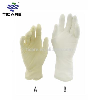 Disposable powdered medical sterile latex exam gloves