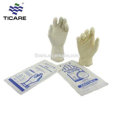 Medical Sterile disposable latex surgical gloves