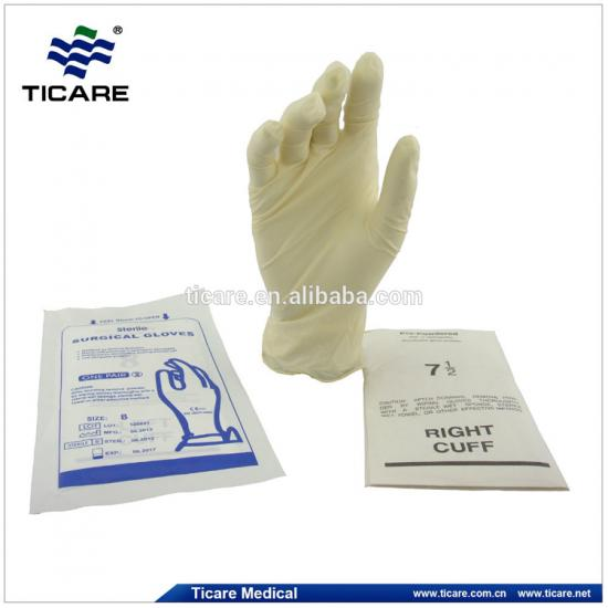 medical  disposable Latex Surgical gloves