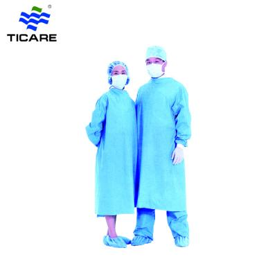 Disposable sterile surgical gown for hospital