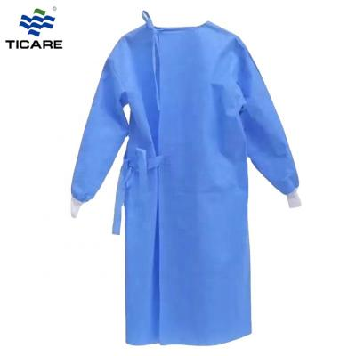 Disposable SMS Surgeon Gown Hospital Surgical Impervious Protective Gown