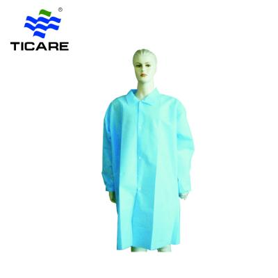 Disposable visiting gown plastic apron breathable surgical gown