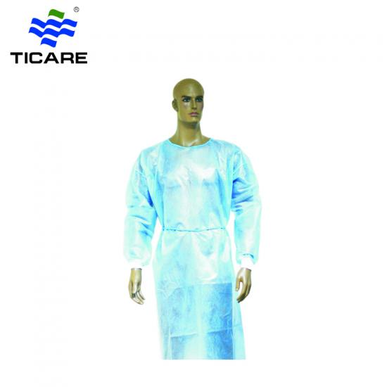 Disposable visiting surgical gown plastic apron breathable