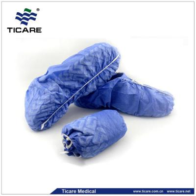 Medical elastic around non woven shoe cover supplier