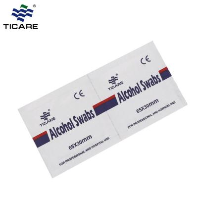 Disposable Skin antiseptic medical alcohol prep pad