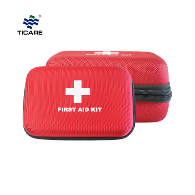 Deluxe 45-Piece Travel First Aid Kit with Pockets