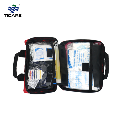 Red Cross First Aid Kit Bag for travel