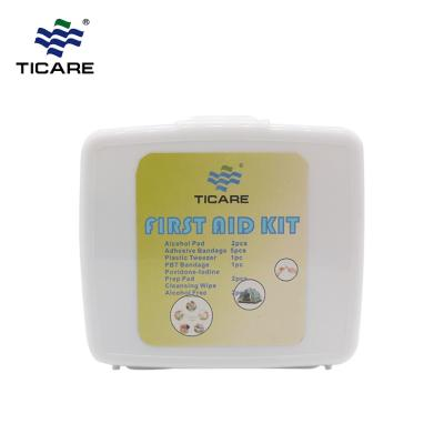 13 Pcs White First Aid Kit