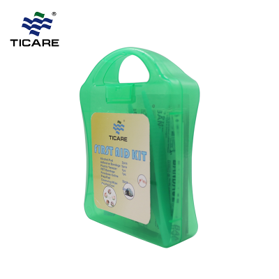 Standard 10 Person First Aid Kit Box Green