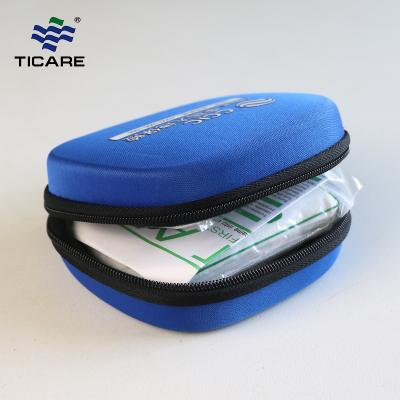 Mini First Aid Kit Hard Shell Blue