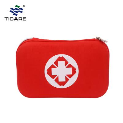 Red Hardcover Shell First Aid Kit